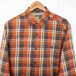EDDIE BAUER Men Size M Shirt Travex Flannel